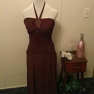 Stunning Brown cocktail dress